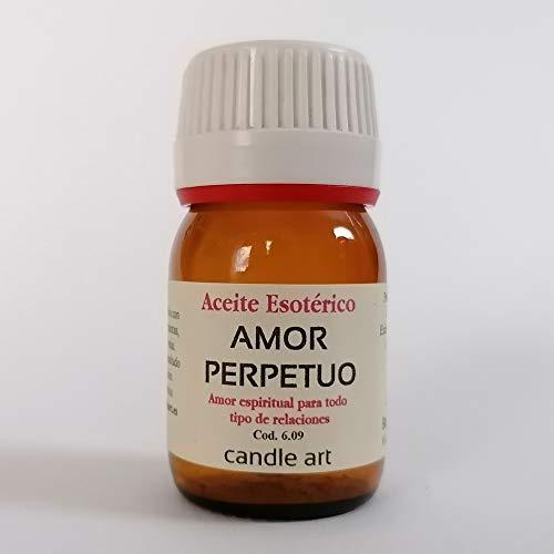 Candle Art Aceite con extracto de Plantas Amor PERPETUO - UNGIR Velas