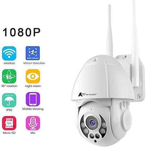 KNEWMART IP Kamera HD Outdoor IP66 WLAN WiFi Pan Tilt ONVIF Sicherheit IP Cam Außen 720P Überwachungskamera