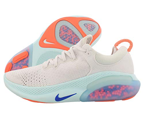 Nike Joyride Run Flyknit, Zapatillas de Trail Running Mujer, Multicolor (White/Racer Blue/Platinum Tint 100), 37.5 EU