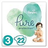 foto Pampers Pure Protection 81685099 pañal desechable Niño/niña 3 22 pieza(s) - Pañales desechables (Niño/niña, Tape diaper, 6 kg, 10 kg, Multicolor, Algodón)