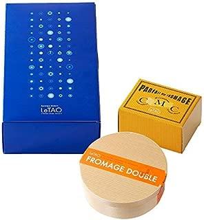 LeTAO(ルタオ) チーズケーキ ギフトボックス 黄金のフロマージュセットB (ドゥーブルフロマージュ パフェ・ドゥ・フロマージュ(ハーフ)