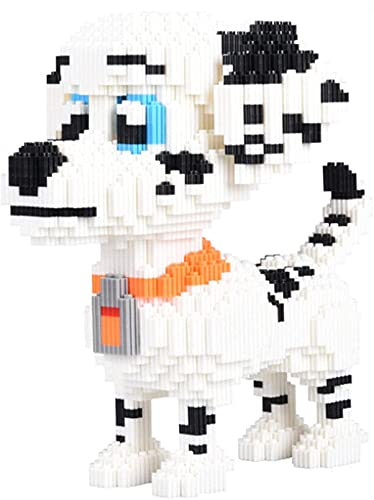 SCXY Mini Dog Building Blocks Pet Building Blocks Toy Bricks, 3D Brain Teaser Puzzle Juguete Educativo para niños (4580pcs)