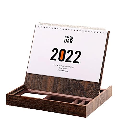 2022 Simplicity Storage Drawer Desk Calendarcalendar Monthly Scheduler Table Planner for Home Office School Desk Memos Gifts