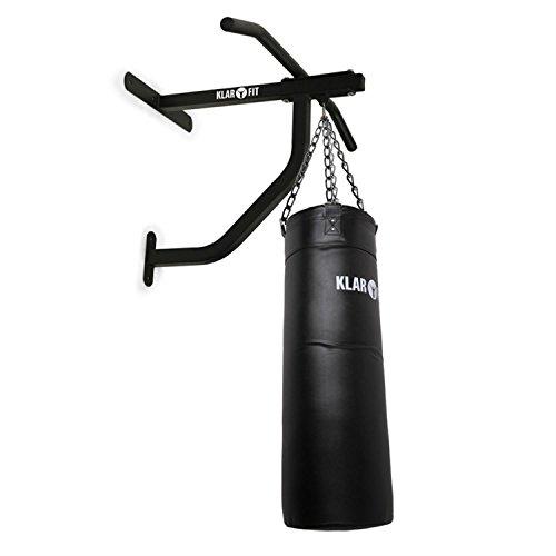 barra trazioni boxe Klarfit barra per trazioni con sacco da boxe (fino a 350kg