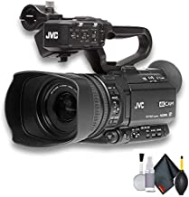 JVC GY-HM250 UHD 4K Streaming Camcorder - Starter Bundle