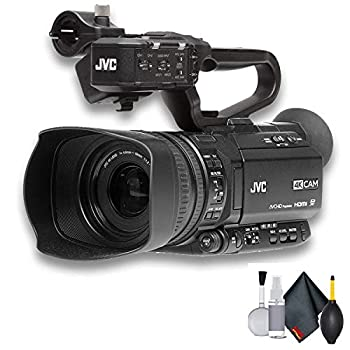 JVC GY-HM250 UHD 4K Streaming Camcorder with Built-in Lower-Thirds Graphics - Starter Bundle