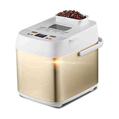 New ZYK Bread Machine,Capacity 750G, Compact Fast Breadmaker Gluten Free Automatic Programmable 19...