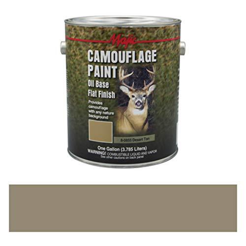 Majic Paints 8-0855-1 Camouflage Paint, 1-Gallon, Desert Tan