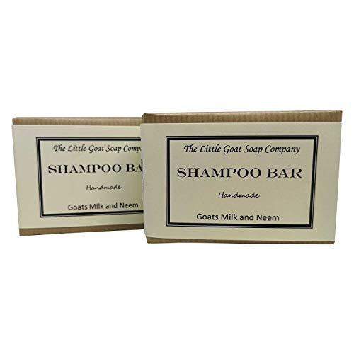 2 x shampoo bar – geitenmelk en neemolie 100 g. eczeem, psoriasis, seborroom.