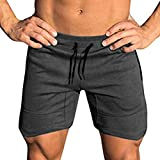 COOFANDY Men's Workout Gym Shorts Weightlifting Bodybuilding Squatting Fitness Jogger with Pockets...