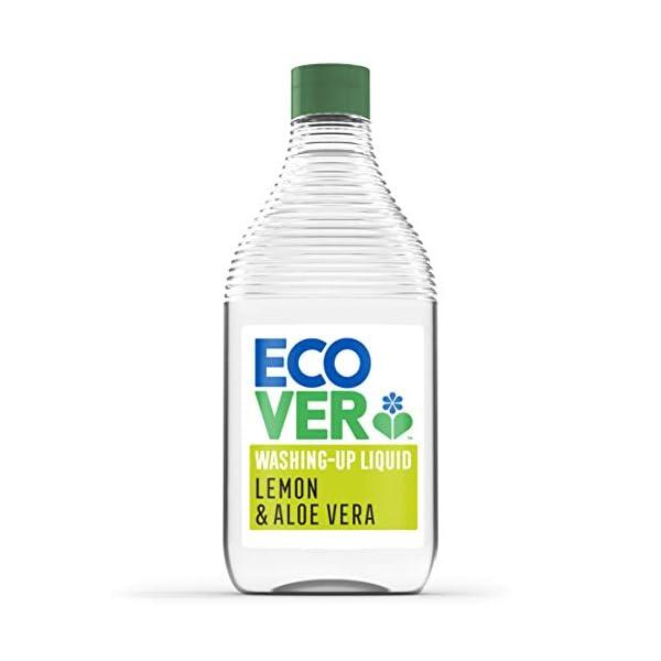 Ecover Lemon & Aloe Washing Up Liquid, 450ml