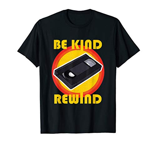 Be Kind Rewind VHS Cassette T-shirt. Adult and Child Sizes