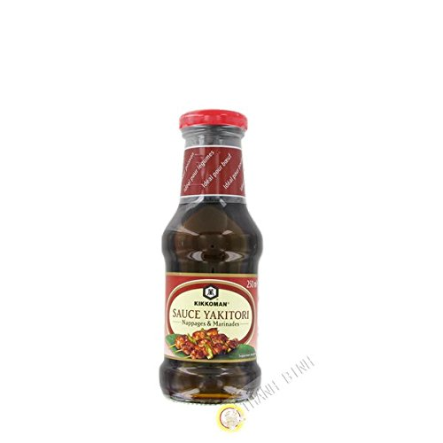 Sauce Yakitori Glasuren und Marinaden KIKKOMAN 250ml Holland - Pack von 3 pcs