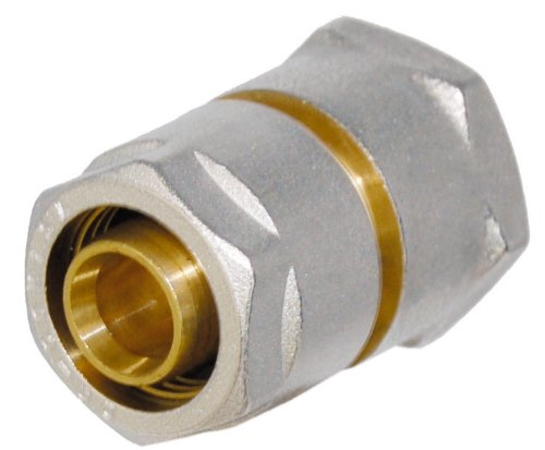 WIROFLEX® | Klemmring-Verschraubung inklusive Adapter | Komplettlösung | Schraubsystem | 16 mm x 1/2 IG | Für Mehrschichtverbundrohr