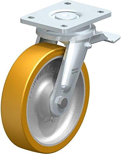 Blickle–Rueda con tope de lo extratano 200K de St, con rodamiento de bolas, diámetro 200mm