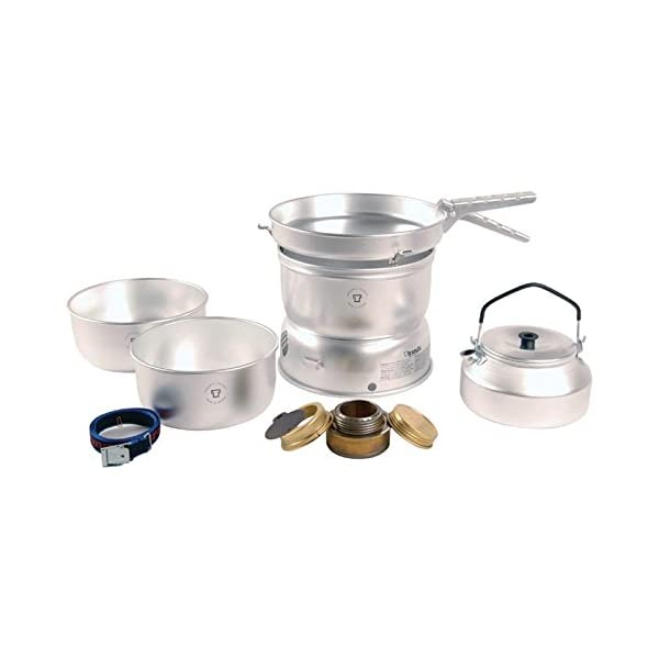 Trangia 25-2 UL Cookset with Kettle and Spirit Burner 1