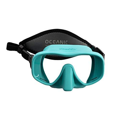 Oceanic Shadow Mask Tauchermaske Tauchen Freedive, blau