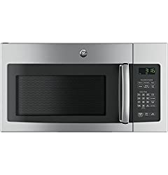 top 10 over the range microwaves GE JNM3163RJSS 30 inch 1.6 cc ultra wide range microwave oven, stainless steel capacity