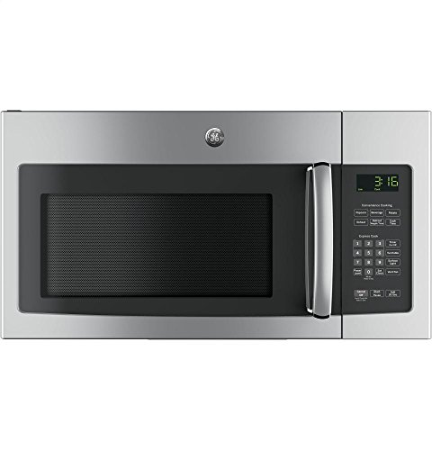 GE JNM3163RJSS 30' Over-the-Range Microwave with 1.6 cu. ft. Capacity, in Stainless Steel
