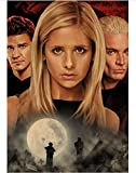 MOMEI Leinwand Poster Buffy The Vampire Slayer Poster