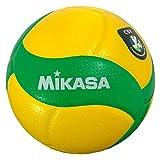 ミカサ(MIKASA) バレーボール 欧州チャンピオンズリーグ公式試合球 5号 一般・大学・高校 イエロー/グリーン V200W-CEV