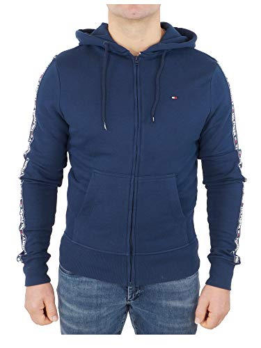 Tommy Hilfiger Herren Hoody Ls Hwk Kapuzenjacke, Blau (Navy Blazer 416), Medium