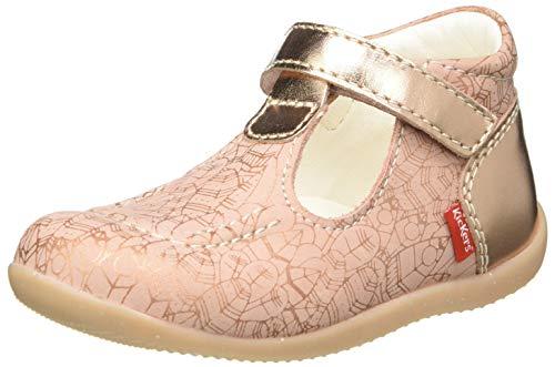 Kickers BONBEKRO, Chaussure Baby Bébé Fille, Rose (Ethnic), 20 EU