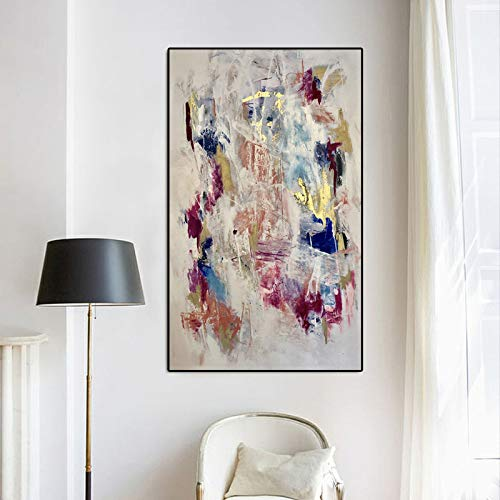YHZSML Pop Kunst Leinwand Malerei Abstrakte Druck Wandkunst Wandbilder Für Wohnzimmer Schlafzimmer Bilder Dekoration Ungerahmt 60x105 cm