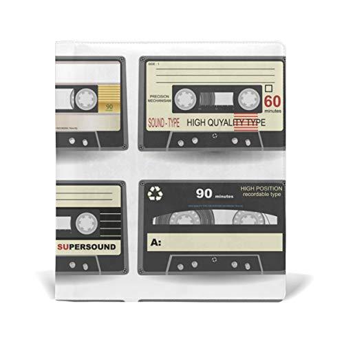 DEZIRO Cassette Book Covers se adapta a libros de texto de tapa dura de hasta 9 x 28 cm