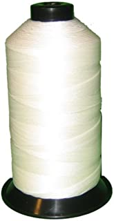 Item4ever White 100g UV Resistant High Tenacity Polyester Sewing Thread Size Medium 210d/3 for Outdoor, Upholstered