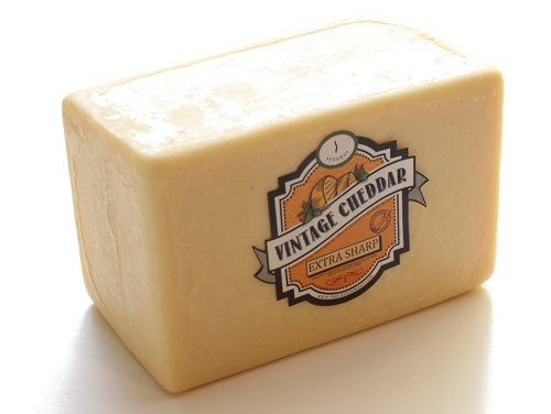 Cheddar Cheese 1 Year Aged White...