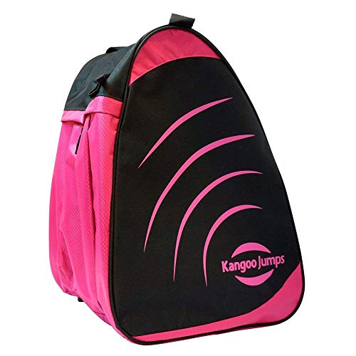 KangooJumps Carry Bag 9 Bolsa de Transporte, Mujer, Negro y Rosa