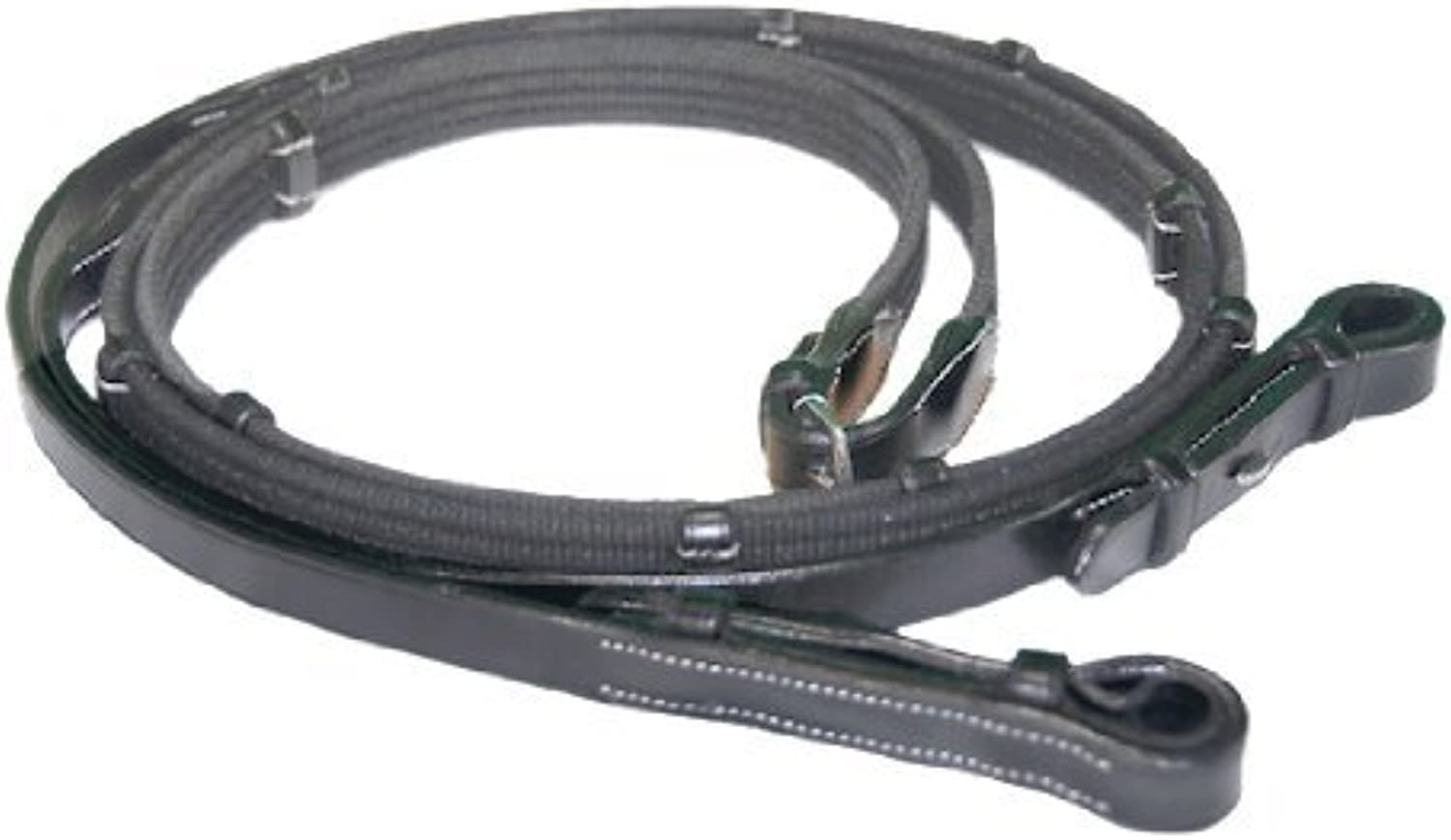 Exselle Web Reins with Stops by Exselle Leather nnuvsz6881-Sporting