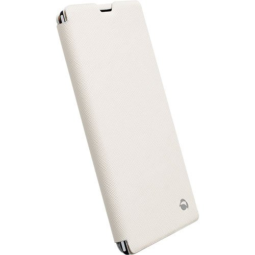 Krusell Malmö Flip Hülle für Sony Xperia T3 weiß