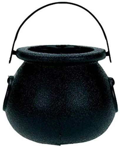 "Amscan Plastic Candy Kettle, 2"", Black"
