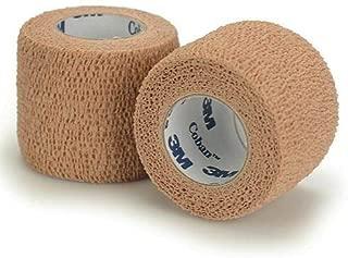 3M Coban LF Latex Free Self-Adherent Wrap, 5 Roll (Pack of 1)