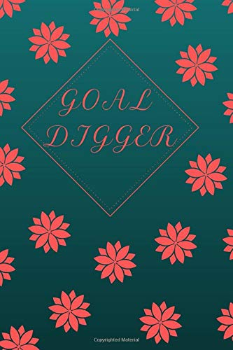 Goal Digger - Dotted Grid Journal/Notebook - 132 pages/66 sheets - Ideal Tool For Creative Planning - Productivity Tool