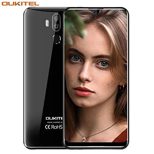 OUKITEL K9 4G Cellulari e Smartphone,7.12' 18:9 FHD Display,MT6765 Octa Core 2,3GHz,4GB RAM 64GB ROM Android 9.0, Batteria 6000mAh,Fotocamera 16MP+2MP/8MP Nero