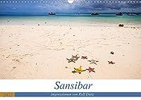 Sansibar - Impressionen von Rolf Dietz (Wandkalender 2022 DIN A3 quer): Straende wie aus einem Traum (Monatskalender, 14 Seiten )