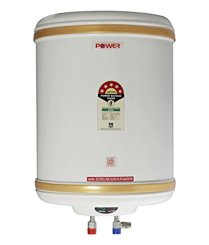 Powerpye 15 Liter 500 watts Solar/battery/inverter water heater geyse