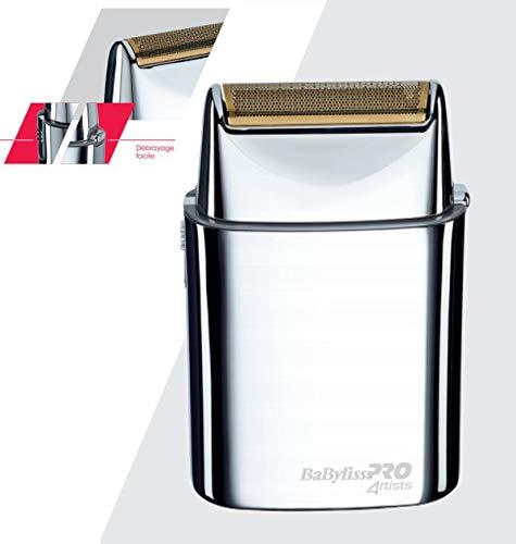 Profi-Rasierer aus Metall FOILFX01