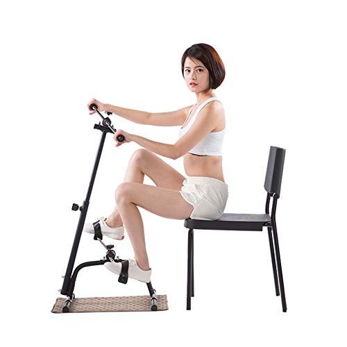 Ganzkörpertrainer - zu Hause sitzender Pedaltrainer, Heimtrainer und Oberkörpertrainer, perfekt für Ihr Heim-Fitnessstudio, Kreislauf-Booster-Ausrüstung, verbessern Sie Ihre kardiovaskuläre Fitness