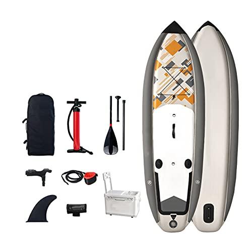 Tabla De Paddle Surf Hinchable,Unisex Tabla SUP Paddleboard Kit,Stand Up Paddle Board,15 CM De Espesor,Kayak,Almohadilla Integrada,Accesorios Completos,330 * 97 * 15cm