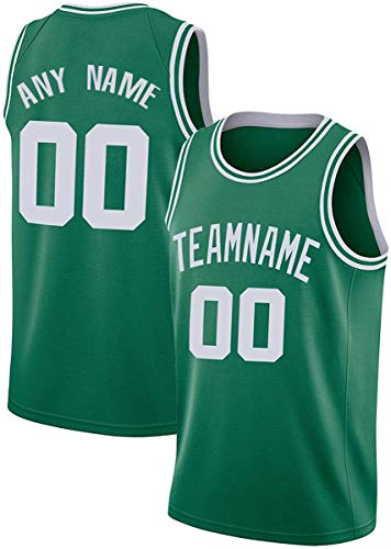 Custom B.C. Basketball Jersey Uniform Personalized Shirt Team Name & Number Present Gifts Jerseys for Men Women Younth