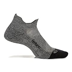 Engineered For Performance And Extreme Comfort: Feetures engineers products for the body in motion. Our Elite socks have a unique anatomical design that enhances fit, delivering maximum comfort and protection by eliminating blisters. The seamless toe...