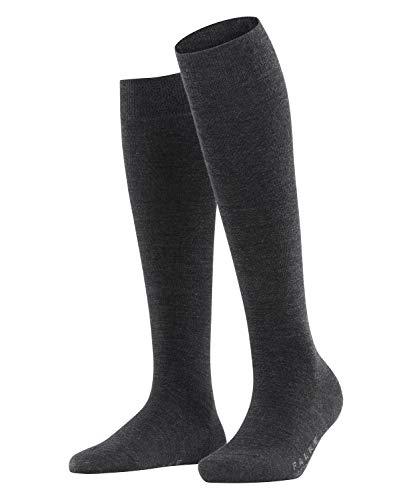FALKE Damen Socken, Softmerino W KH-47438, Grau (Anthracite Melange 3089), 39-40