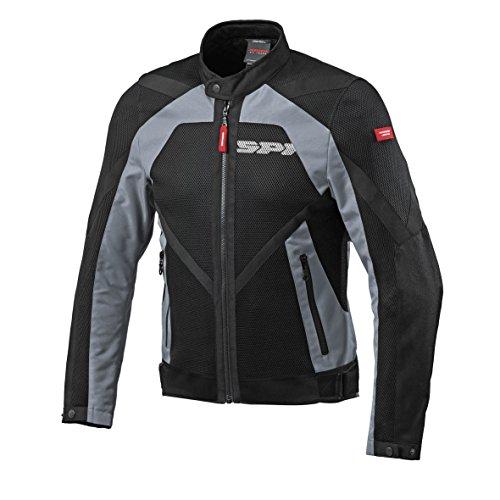 SPIDI Motorrad Textile Jacke Netstream, Grey, Größe L