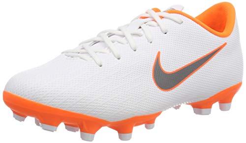 Nike Unisex Mercurial Vapor XII Academy MG Junior Fußballschuhe, Weiß (White/Chrome-Total O 107), 37.5 EU