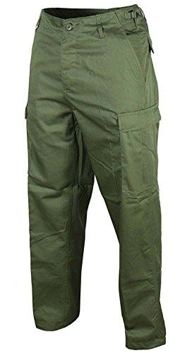 US Ranger Pantalón 4Colores a Elegir Mejorada Calidad Verde Oliva, M (bundw. 86cm Aprox.)