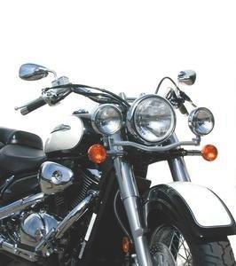 Complete Chrome Light Bar- Suzuki C50 Boulevard 05 and newer VL800 Intruder Volusia 01-04 - NC-N941
